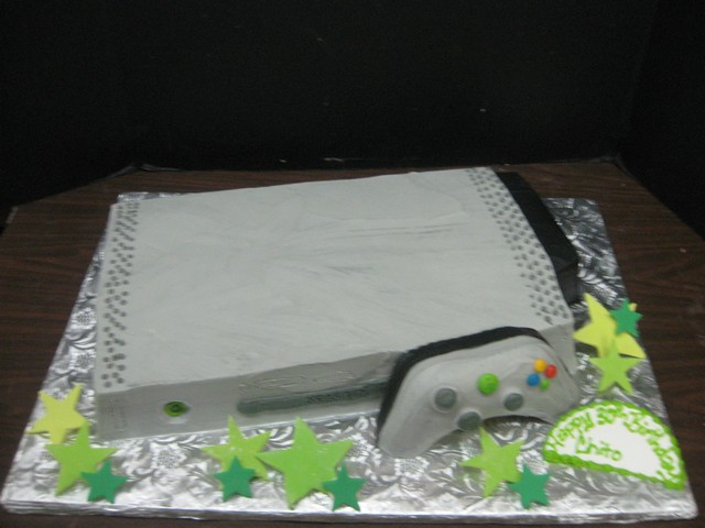 Video Games Birthday Cakes Video Game System Freestanding
