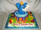 Circus Elephant with Animals