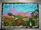 Dinosaurs Drawn On
