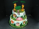 Jungle Animals & Faces on tiers