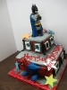 Super Heroes on Buildings 3D