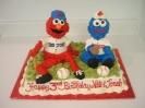 Sesame Characters Baseball
