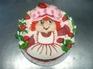 Strawberry Character with Fruit