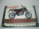 Motorcycle Drawn On