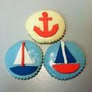 Nautical Anchor & Sailboats