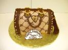 Designer Handbag metallic
