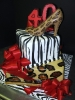 Animal Print Tier with Shoe