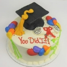 3D Grad Cap and Puff Diploma