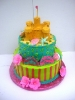 3D Sandcastle on 2 Tier