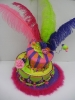Mad Hatter with Feathers and Marabou