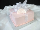 Pink Present with Glitter Ribbon