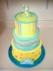 Birthday Tower in Pastels