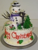 Christmas_Snowman 3D