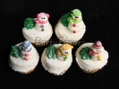 Winter_Cupcakes Snowmen