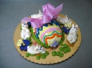 Easter_Egg in Fondant Freestanding