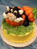 Halloween_Black Cat in Pumpkin