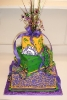 Mardi Gras_Tier with beads
