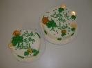 St Patricks Day_Shamrocks and Coins