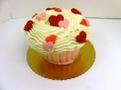 Valentines Day_Cupcake Cake with Hearts