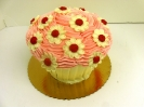 Valentines Day_Cupcake Cake with Daisies