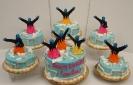 Blue Man Cakes