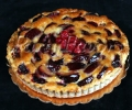 Plum Raspberry Tart