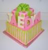 Present Cake with Fondant Bow