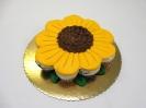 floral_Sunflower Cupcake Cake