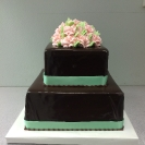 Ganache with Ribbon & Roses